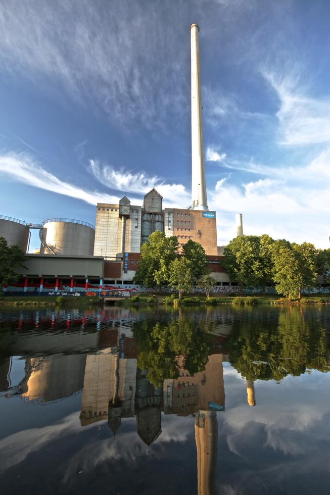 Kohlekraftwerk Saarbrücken